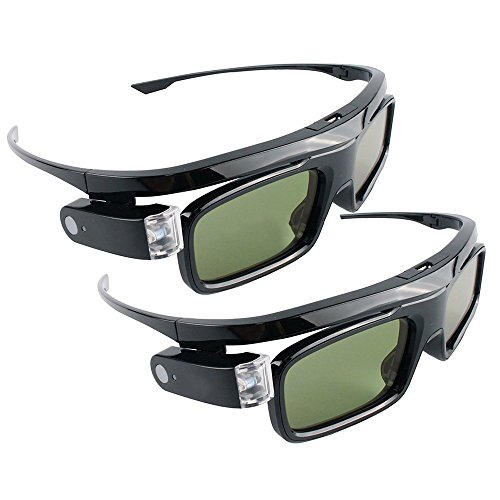 2x Hi-SHOCK Dual Play DLP Link 3D-Brille