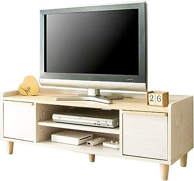 アイリスプラザ テレビ台 ローボード 収納 収納棚 北欧風 幅120×奥行40×高さ43.5cm ホワイト IR-TV-005