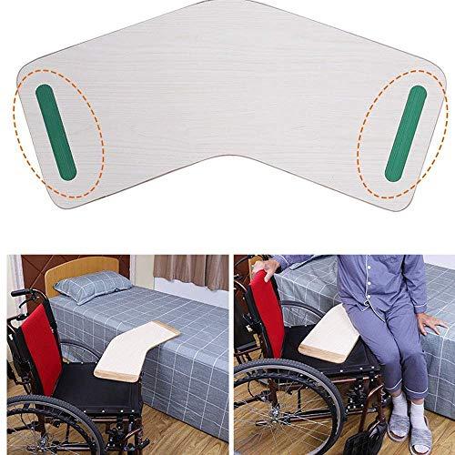 RGLZY Rollstuhl/Commode Umsetzhilfe, Holz Umsetzhilfe, 200Kg Kapazität Heavy Duty Gleitplatten Für Transfers Von Senioren Und Handicap