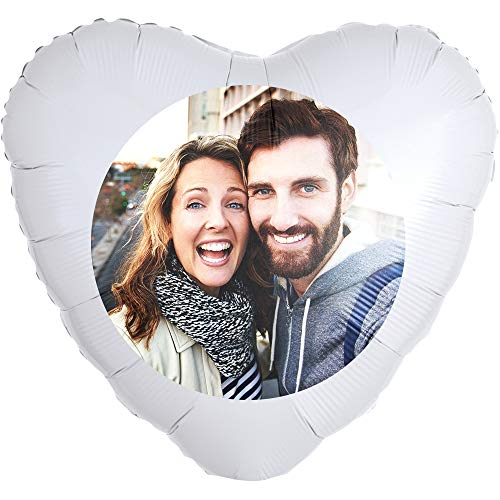 Personalisierter Foto-Ballon zum selbst gestalten, als Geschenkidee und Überraschung, heliumgefüllt