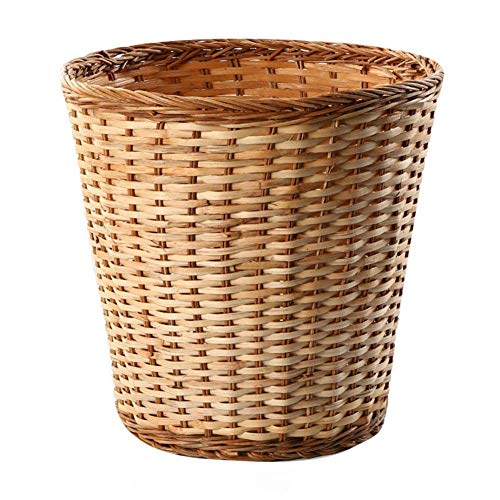 cesta con tapa con efecto mimbre fabricante XBSLJ