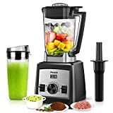 Arcbt 1450W Countertop Blender with 72oz BPA-Free Jar, Large Commercial Kitchen Blender for Shakes and Smoothies, Crushing ice, Frozen Fruit, 9-Speed Control & Pulse, 33000RPM High Speed, 3 Presets