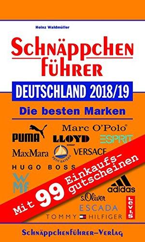 Schnäppchenführer Deutschland 2018/19: Mit Einkaufsgutscheinen im Wert von über 2.000 EURO