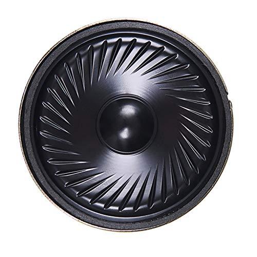 Shiwaki Magnetische Lautsprecher 50mm 0.5W 8 Ohm Kleiner Wasserfest Loudspeaker Subwoofer Heimwerker-Werkzeuge
