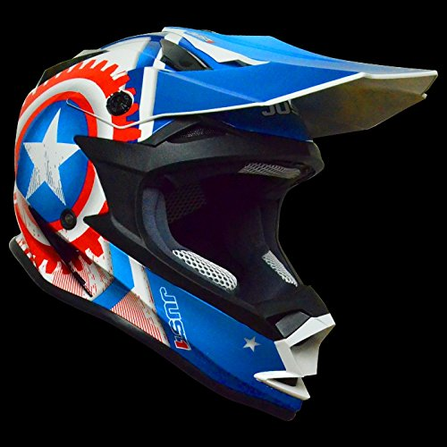 Just 1Helmets Casco J32–Moto Star America