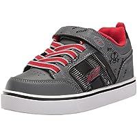 Heelys X2, Zapatillas Unisex niños, (Black/Grey/Red), 32 EU