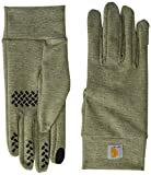 Carhartt Men's Heavyweight Force Liner Glove, Burnt Olive Heather, L