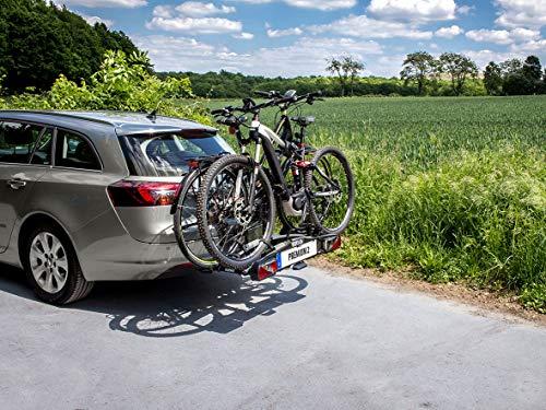 EUFAB 11521 Heckträger Premium ll für Anhängekupplung, für E-Bikes geeignet - 3