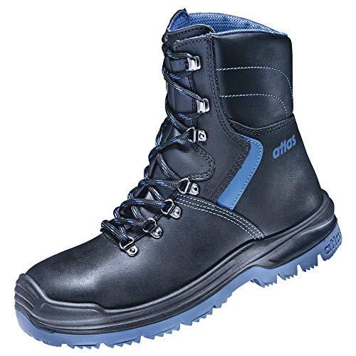 atlas Botas de seguridad XR 845 XP, S3, negro/azul, ancho 10, talla 42