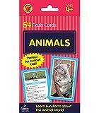 Carson Dellosa | Animals Flash Cards | Animal Facts for Kids, 54ct