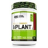 optimum nutrition 100% plant gold standard senza gluten, proteine vegane in polvere con vitamina b12, aminoacidi essenziali, bcaa naturalmente presenti, frutti di bosco, 684g, 19 porzioni