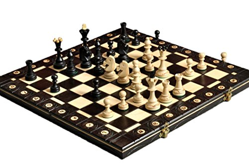 The House of Staunton The Black Senator Chess Set
