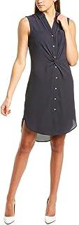 Jones New York Draped Waist Dress