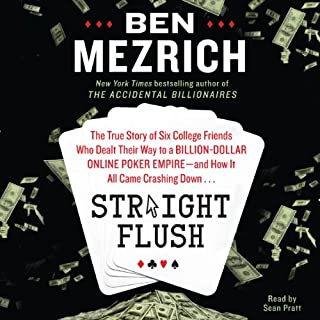 Straight Flush audiobook cover art