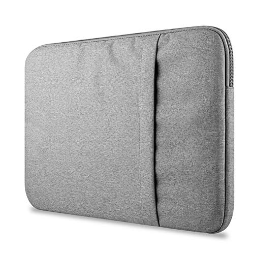 WSY Laptop Sleeve Bag 12 13 13.3 14 15 15.6 Inch Waterproof Notebook Bag Funda For Macbook Air Pro 13 15 16 Inch Computer Case Cover (Color : Gray, Size : For 13 inch)