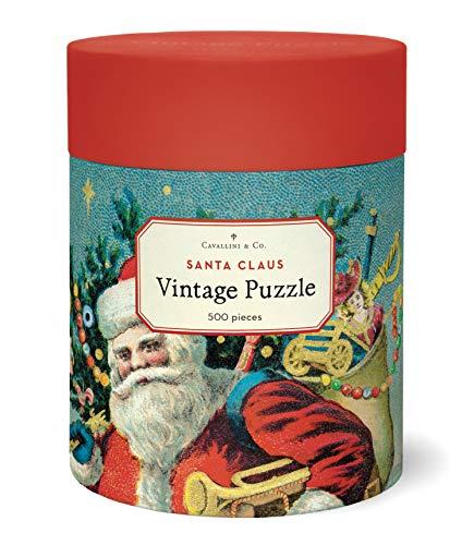 Cavallini & Co. Santa Claus 500 Piece Puzzle, Multi