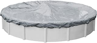 Pool Mate 5218-4 Extreme-Mesh Winter Round Above-Ground Pool Cover, 18-ft, 7. XL Silver