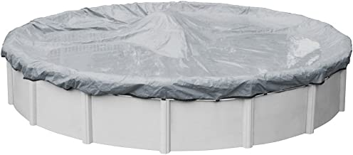 Pool Mate 5218-4 Extreme-Mesh Winter Round Above-Ground Cover, 18-ft, 7. XL Silver