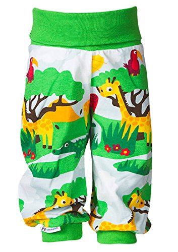 JNY Colourful Kids - Bébé Fille Garçons Pantalon Pantalon de bébé Pantalon à jouer Pantalons SAFARI - Vert, 68