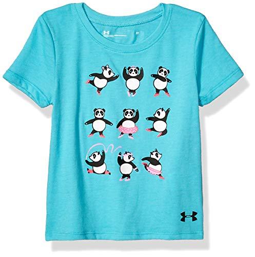 Under Armour Boys' Toddler Girls' UA 50 YD LINE Raglan, Breathtaking Blue f19, 4T