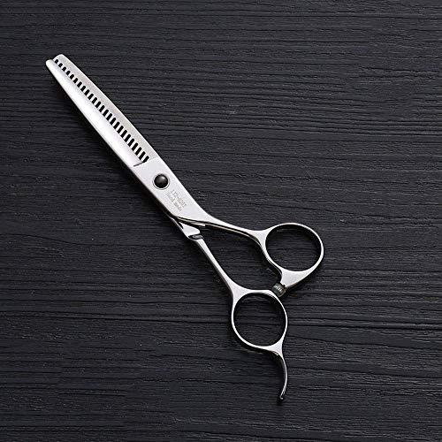 N/ A Ciseaux de Coupe de Cheveux pour Adultes, Acier Inoxydable 440C, Type à 25 Dents, Type T, Coiffeur Professionnel de 6 Pouces, Ciseaux de Coiffure