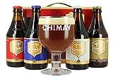 Estuche regalo Chimay 4 especialidades + copa