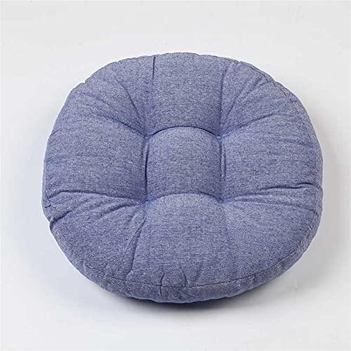 SLAKF Esteras para sillas Redondo de Oficina Asiento Trasero cojín sillón sillón de sofá colchón futones sillas de Mesa Pisos de Pecho colchón de oración Pouf (Color : 03, Specification : 46cm)
