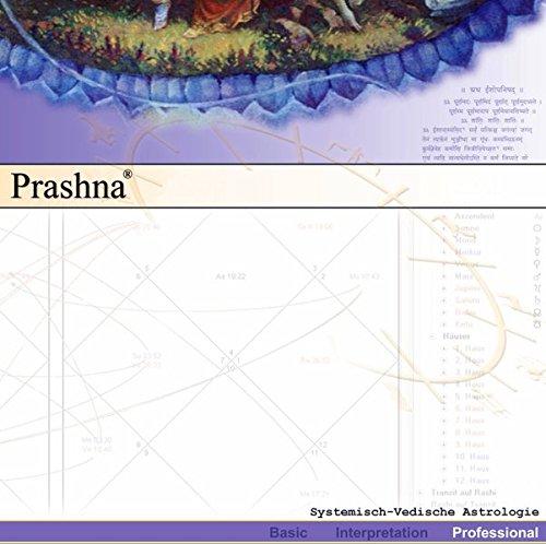Software für Vedische Astrologie: Prashna-Professional: Professionelle Software für Vedische Astrologie (nur für Windows)