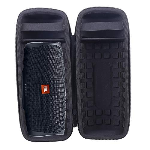 Aenllosi Hard Carrying Case for Fits JBL Charge 4 Portable Waterproof Wireless Bluetooth Speaker (Black)