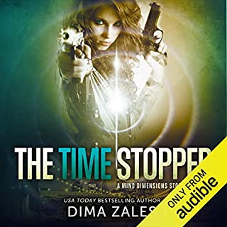 The Time Stopper audiobook cover art