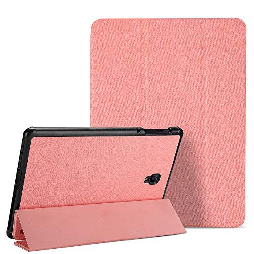 LHXHL Adatto per Samsung Tab S4 10.5 Custodia Protettiva,Custodia in Pelle TPU Anti-Caduta con Fessura per Penna Custodia Protettiva Intelligente Ultrasottile Cover Protettiva Piatta per Dormire