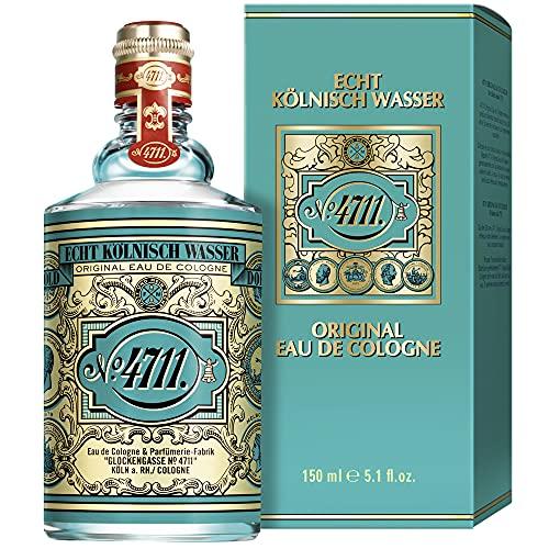 4711 4711® echt kölnisch wasser | eau de cologne 150ml molanusflasche - duftklassiker im ikonischen flakon - charakteristischer duft - unisex - wohltuend für körper geist und seele