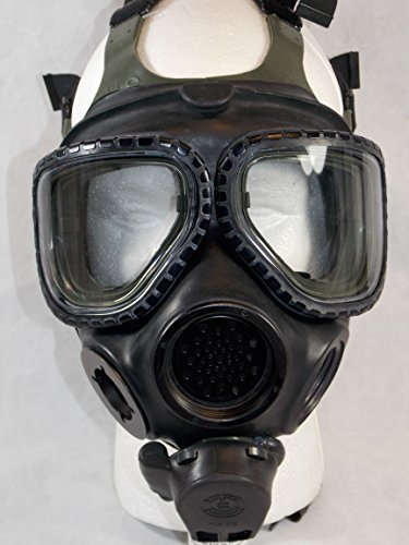 3M FULL FACE RESPIRATOR FR-M40 GAS MASK SIZE SMALL