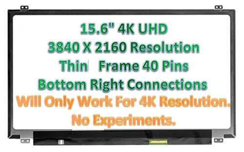4K 3840x2160 B2 SP Matte SCREENARAMA New Screen Replacement for LP156UD1 LCD LED Display with Tools