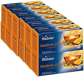 Messmer Madame Grey, Schwarzer Tee 25 Beutel, 12er Pack 12 x 44 g