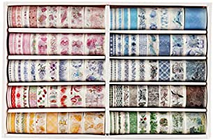 Deal on Wooden Rubber Stamps & Washi Tape Sets