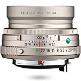 HD PENTAX-FA 43mmF1.9 Limited Silver Limited Lens Prime Lente estándar, Revestimiento HD de Alto Rendimiento, Recubrimiento SP, Diafragma Redondo, Cuerpo de Aluminio mecanizado