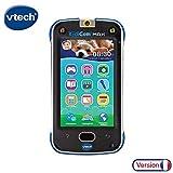 VTech – KidiCom Max Bleu – Téléphone pour enfant évolutif, ultra résistant, sécurisé, avec appareil photo intégré