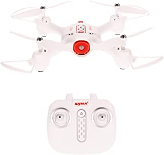 Kiditos Syma X23 RC Drone Without Camera 2.4GHz 4CH 6-axis Gyro Altitude Hold 3D Flips One Key Take-Off/Landing Headless Mode Quadcopter (Black)