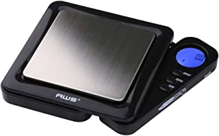 American Weigh Scales Blade Series Digital Precision Pocket Weight Scale, Black, 1000 x 0.1G (BL-1KG-BLK)