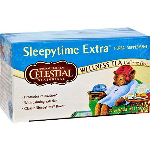 CELESTIAL SEASONINGS - NATURAL Sleepytime Extra Herbal Tea 35g (PACK OF 1)