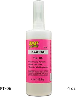 Pacer Technology (Zap) Zap CA Adhesives, 4 oz