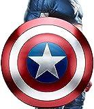 LYMHGHJ Escudo Capitan America Adulto Metal Adulto/Niño 1: 1 Modelo De Aleación Avengers Versión De Película De Mano Juguete De rol De Superhéroe Capitán América Shield Metal, 47cm