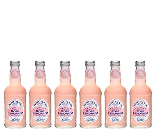 Fentimans 6 Flaschen a 275 ml, Inklusive Pfand ! (Rose Lemonade)
