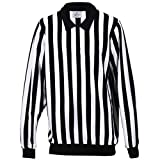 EALER Hockey Jersey for Referee Judge Umpire Medium Size Breathable Cool Men Boy Football Referee Shirt Long...