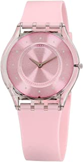 Swatch Skin Quartz Movement Pink Dial Unisex Watch SFE111