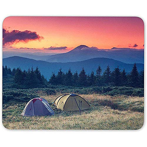 Mouse Pad, Wild Camping Muis Mat Pad Tent Wilderness Wandelen Cool Computer Gift