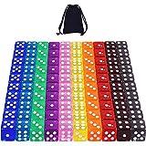 Dados de 10 Colores - 100 Piezas