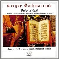 Rachmaninov: Vespers, Op. 37 by S. Rachmaninoff (2001-07-28)