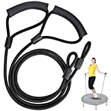 Pair of Resistance Bands for Trampoline Rebounders (Trampoline Not Included), Toning Bands for Mini Trampoline. Tube...
